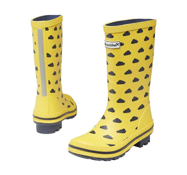 The new range of printed kids wellies comes in spots, stripes, umbrellas and tractors too. Discover our entire range of childrens wellies online today.