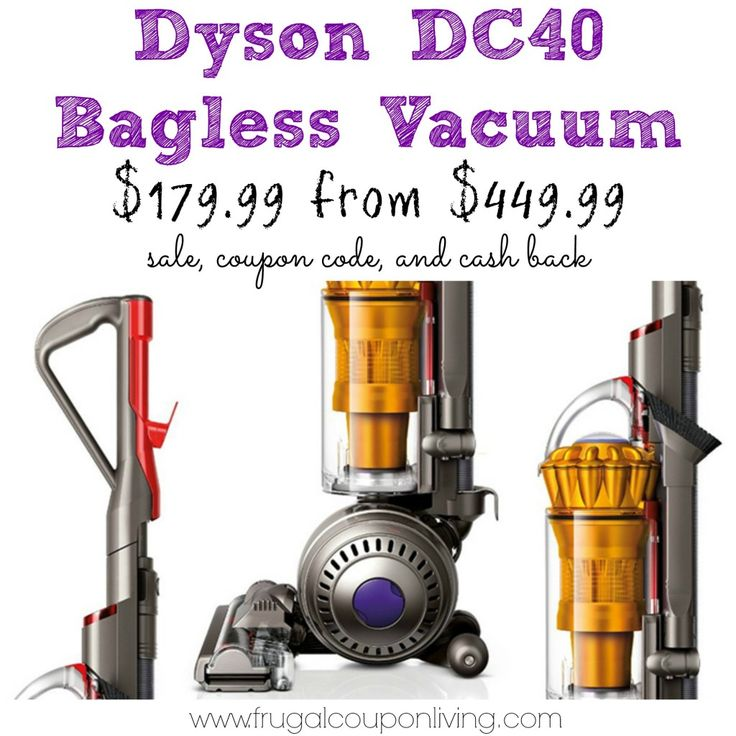 Black Friday @Lauren Davison Velez DC40 Vacuum Sale $180 from $450 – HURRY @Jamie Messick's #blackfriday #hotdeals