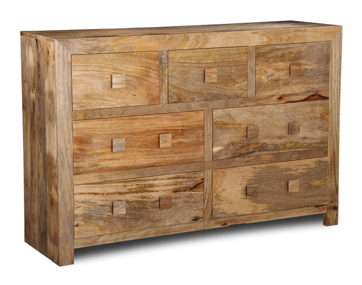 Indian Mango Wood Furniture Drawers for a Bedroom