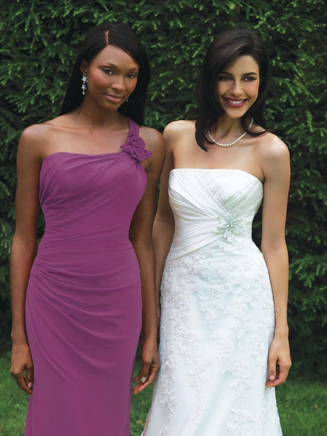 131 best Bridesmaid Dresses by: Allure images on Pinterest | Short ...