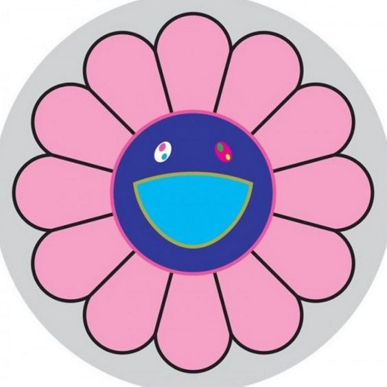Flower Of Joy Painting By Takashi Murakami   Info@guyhepner.com