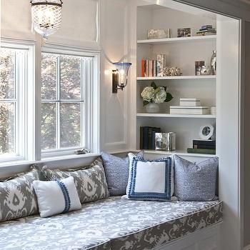 Reading Nook, Contemporary, girl's room, Nightingale Design