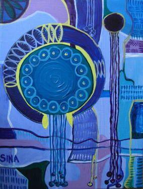 """Saatchi Art Artist Sina Muscarina; , """"Kingdoms of Rain, 2010"""" #art sinamuscarina"""