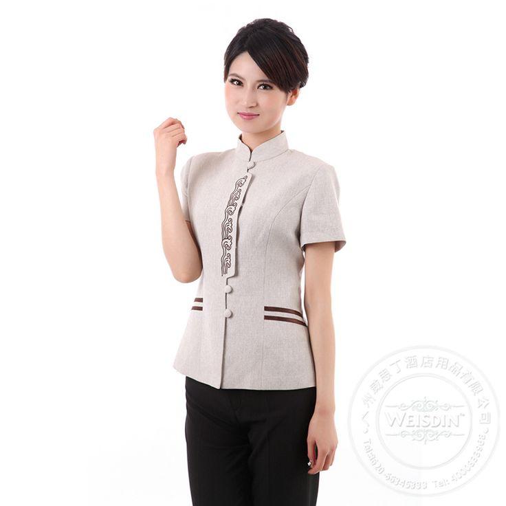 Clean hotel hostess uniform.http://www.weisdin.com