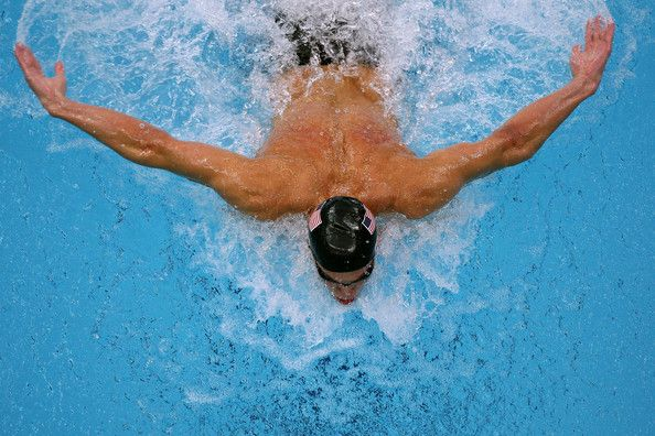 Michael Phelps Photos - Butterfly In Profile: Michael Phelps, Olympic Medals - Zimbio