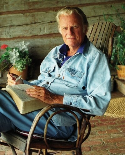 Billy Graham....such a great example!  Read anything he has written!