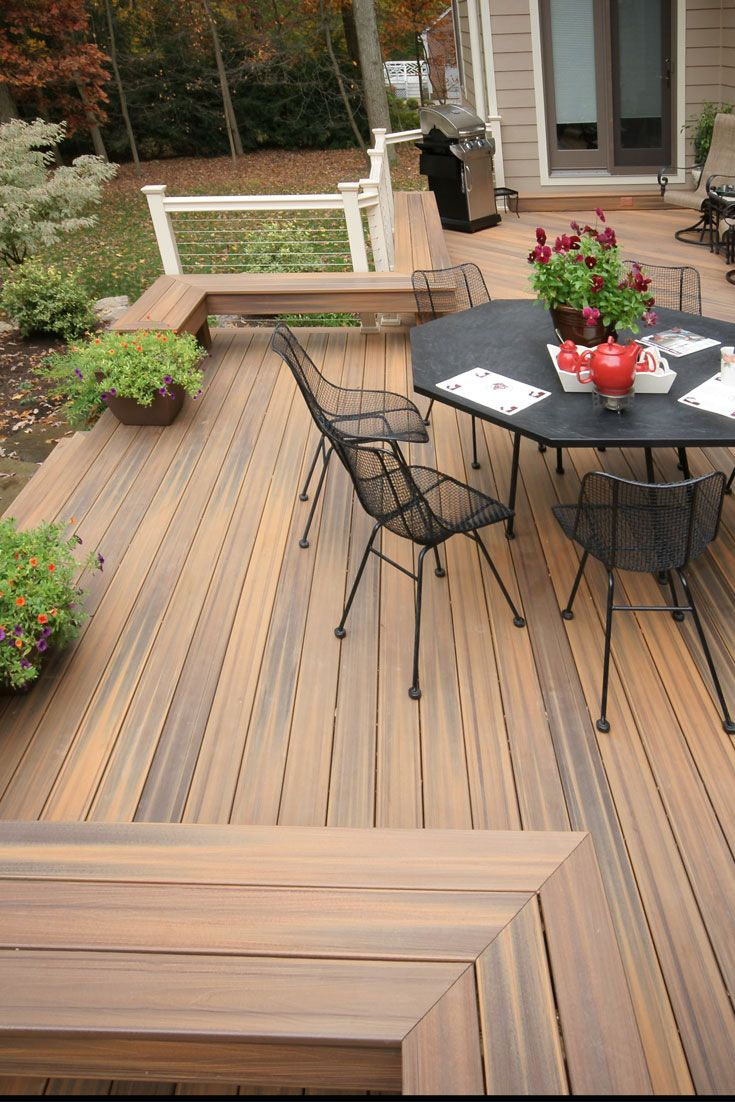 17 best images about composite decks by fiberon on for Fiberon ipe decking prices