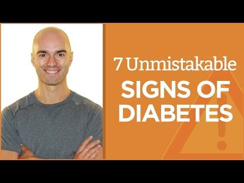 9 Early Signs of Diabetes: The Symptoms In Adults and Children - YouTube