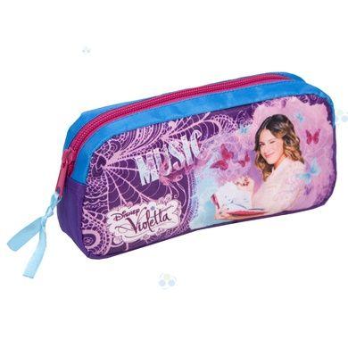 Piórnik saszetka Violetta od firmy Paso to idealny produkt dla każdej miłośniczki serialu telewizyjnego #Violetta, ale nie tylko. #supermisiopl