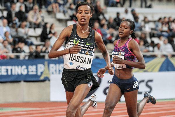 HASSAN batte KIPYEGON a Parigi nei 1500 metri della IAAF DIAMOND LEAGUE | atleticanotizie