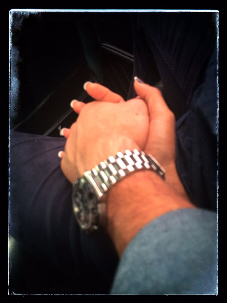 Hold my hand, don't ever let go..