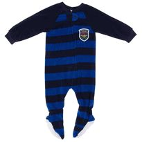 Navy and Blue Striped Blanket Sleeper for Boys $13.99