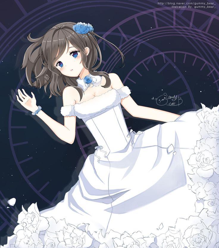 white dress gummy bear anime manga