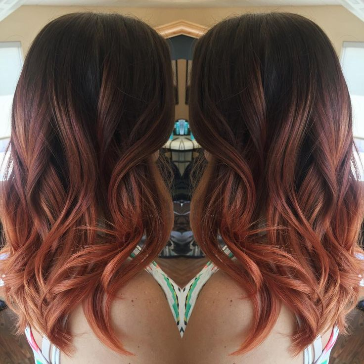 unique rose gold ombre ideas