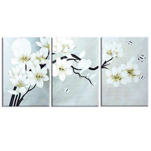 raybre art pintada a mano sobre lienzo modernos cuadros abstractos grandes flores rboles