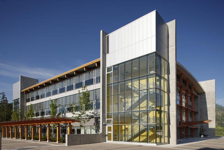 Quest University in Squamish, British Columbia, Canada | by Larigakis Architecture