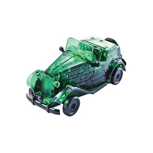Crystal Puzzle Classic Car Green 3D