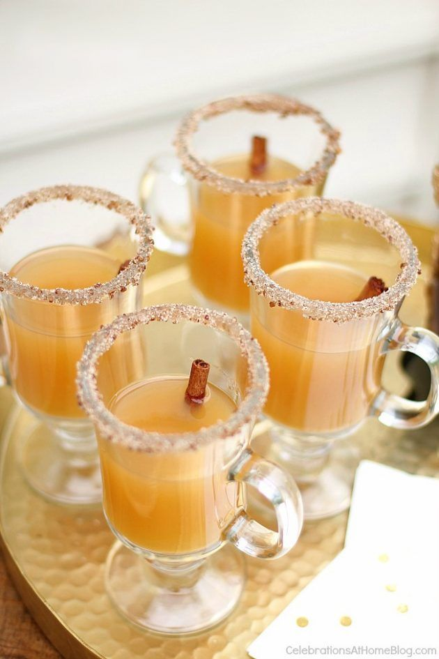 Enjoy this spiced apple hot toddy recipe for fall or winter. It's like hot cider with a kick!