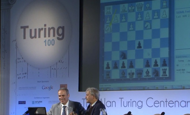 Alan Turing's 60-year-old chess program takes on Garry Kasparov
