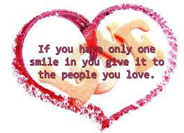 #quotes #smiles are for those that you #LOVE ... even if you can only do one or few ... #valentinesday #valentinesdayideas #inspirational  #teenagers #giftsforher #giftsforhim