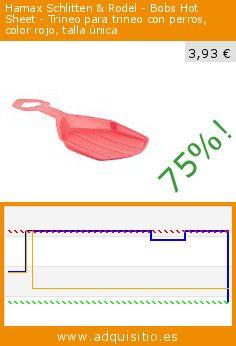 Hamax Schlitten & Rodel - Bobs Hot Sheet - Trineo para trineo con perros, color rojo, talla única (Deportes). Baja 75%! Precio actual 3,93 €, el precio anterior fue de 15,86 €. http://www.adquisitio.es/hamax/caliente-paseo-trineo