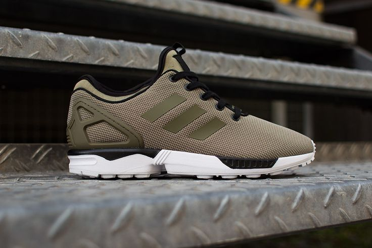 Adidas Zx Flux Dark Green