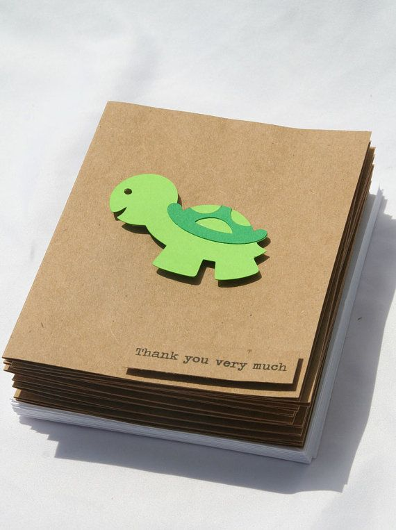 Baby Shower Thank You Cards  Baby Boy Thank You by Glued2Paper