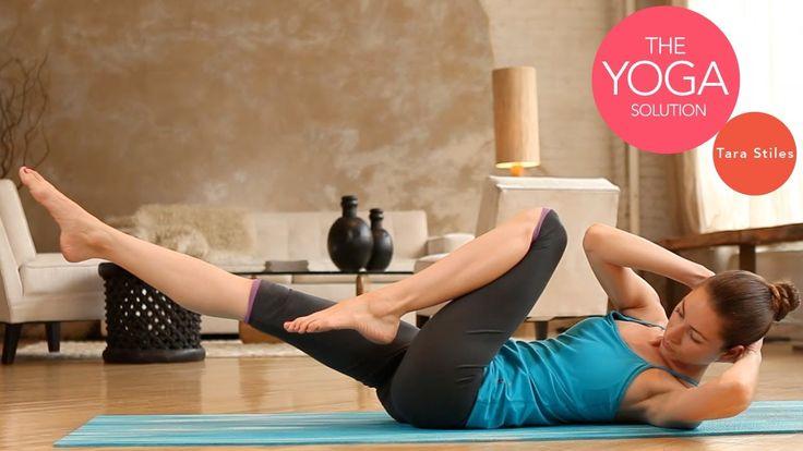 Crazy Core Building Routine | Advanced Yoga With Tara Stiles