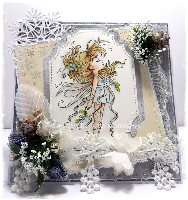 Whimsy Stamps Mistletoe Fairy에 대한 이미지 검색결과