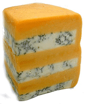 Stilton and Double Gloucester Cheese, strong and amazing taste - Semi-hard cheese, rich in calcium. Best with Burgundy and Chardonnay, or full-bodied red wines like Rioja
