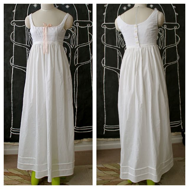 Cation Designs: Historical Sew Fortnightly: Regency Bodiced Petticoat