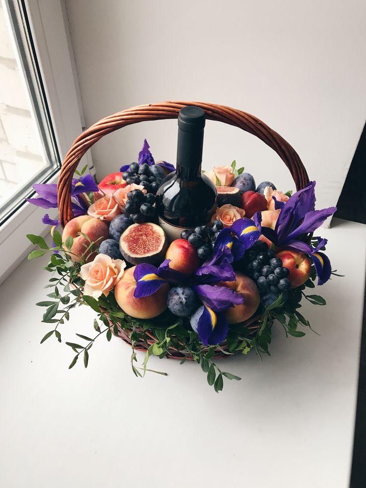 Картинки по запросу фруктовый букет с коньяком