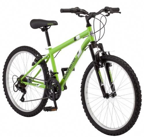 Roadmaster 24 Granite Peak Boys Mountain Bike Light Green Boys