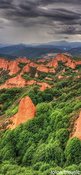 Las Médulas, León, Spain