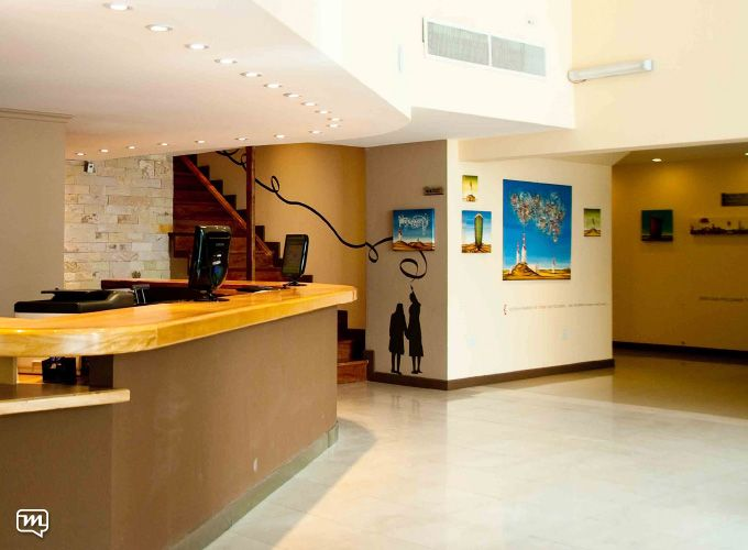 Hotel Pirén by Materia 360. Gallery+art+design+lobby+hotel