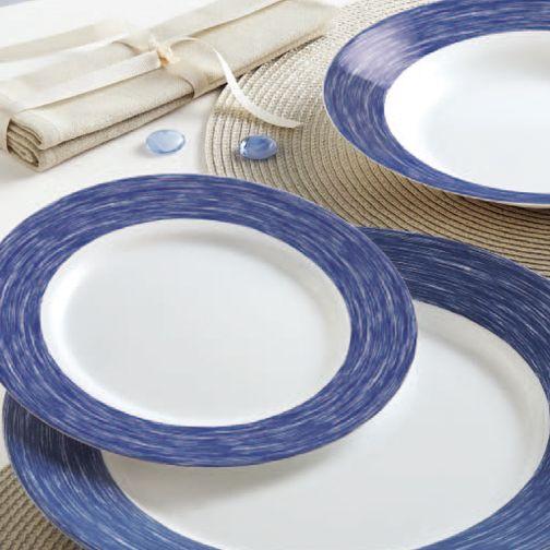 Color Party: una fiesta de color rojo y azul en tu mesa. El azul nos hace sentir relajados y tranquilos mientras que el rojo aporta confianza, coraje y una actitud optimista ante la vida. ¿Cuál prefieres?