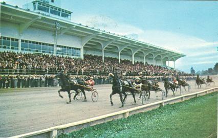 Harness racing, Trois Rivieres, horse racing, track, jockeys, sulky