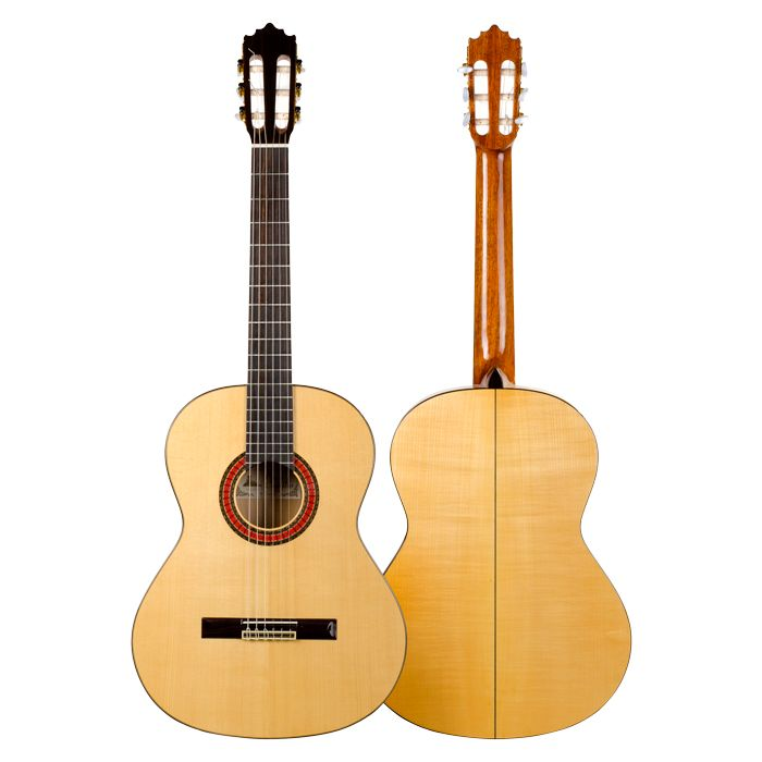 #Flamenco Guitar #handcrafted by Paco Castillo. 213 F model built with sycomore. Order online at #ElFlamencoVive