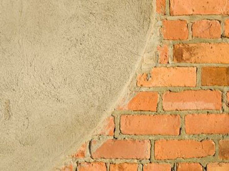 Stucco Over Brick 6211 Willow Pinterest Bricks