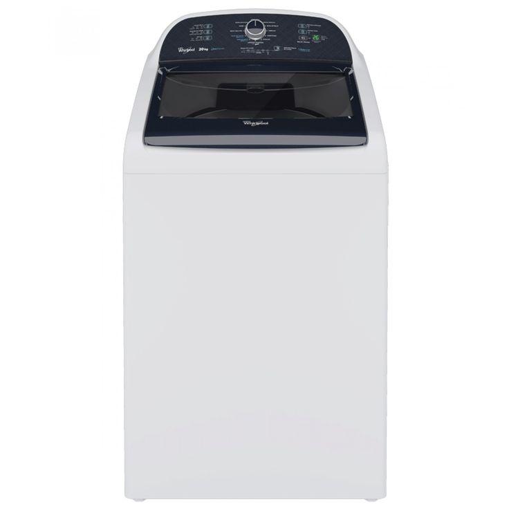 Lavadora Whirlpool color blanco de carga superior con 4 tamaños de carga con Intelicarga y 11 ciclos automáticos que tienen el tiempo y movimientos exactos para tu ropa. Además los ciclos expertos del Xpert System lavan profundamente remueven mejor las