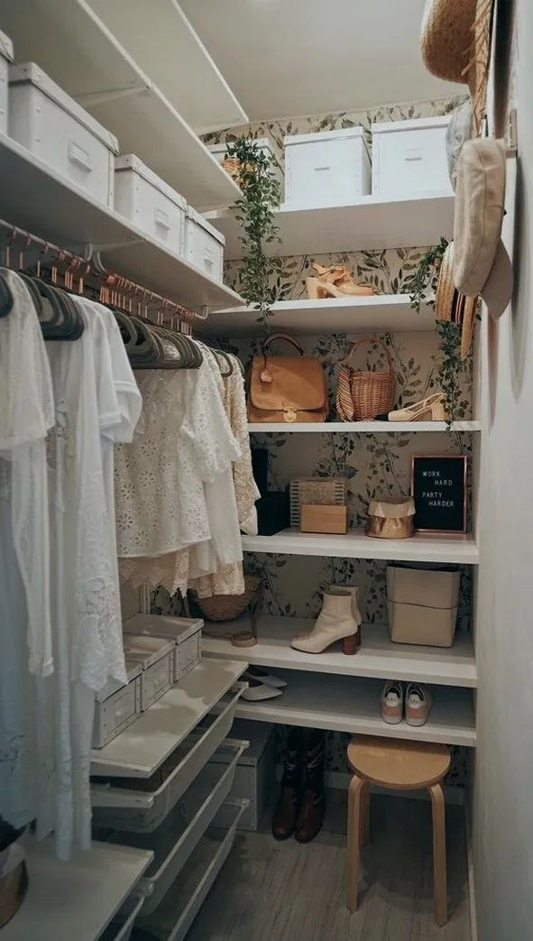 incredible small walk in closet ideas makeovers 25 on extraordinary small walk in closet ideas makeovers id=62379