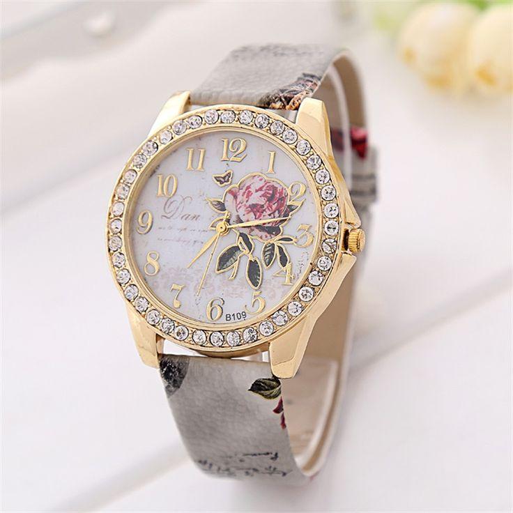$5.11 (Buy here: https://alitems.com/g/1e8d114494ebda23ff8b16525dc3e8/?i=5&ulp=https%3A%2F%2Fwww.aliexpress.com%2Fitem%2F2015-Beautiful-Girls-Dial-Plate-Series-Watch-Women-Rhinestone-Quartz-Watch-Hot-Selling-Wristwatch-30-Style%2F32316909312.html ) 2016 Hot Sale Peony Pattern Watches Women Gift Digital Quartz Watch Casual Leather Ladies Dress Cartoon Wristwatch Clock for just $5.11