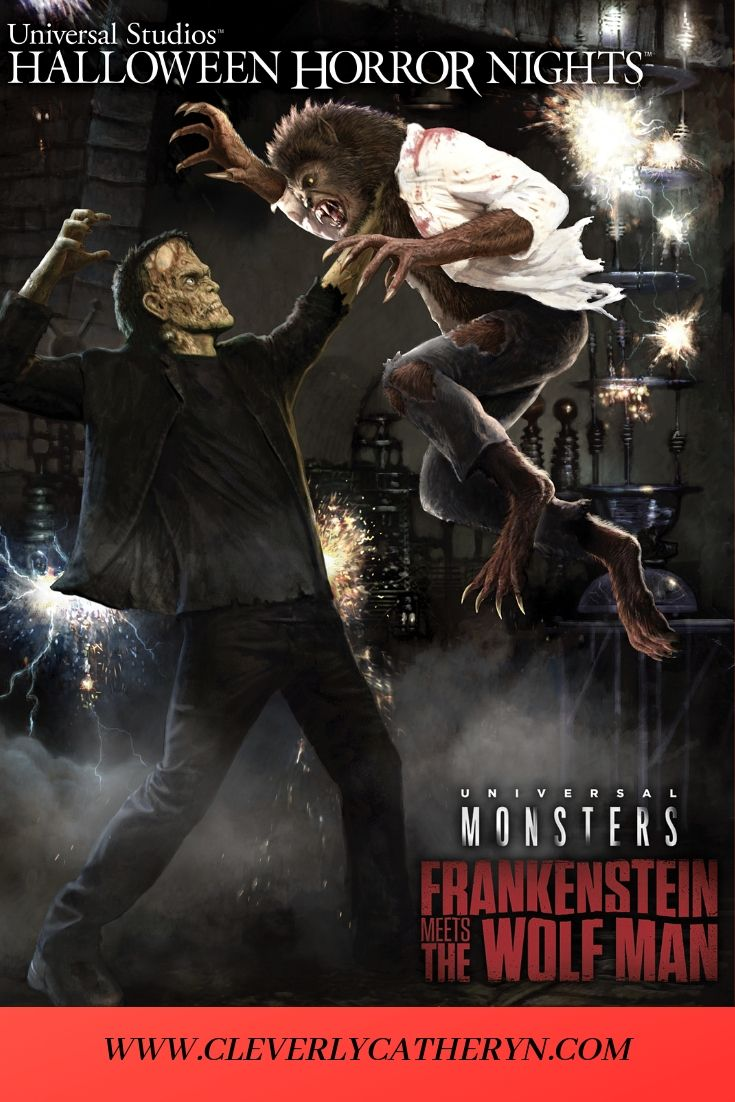 New HHN Maze Announcement for 2019 Frankenstein Meets The