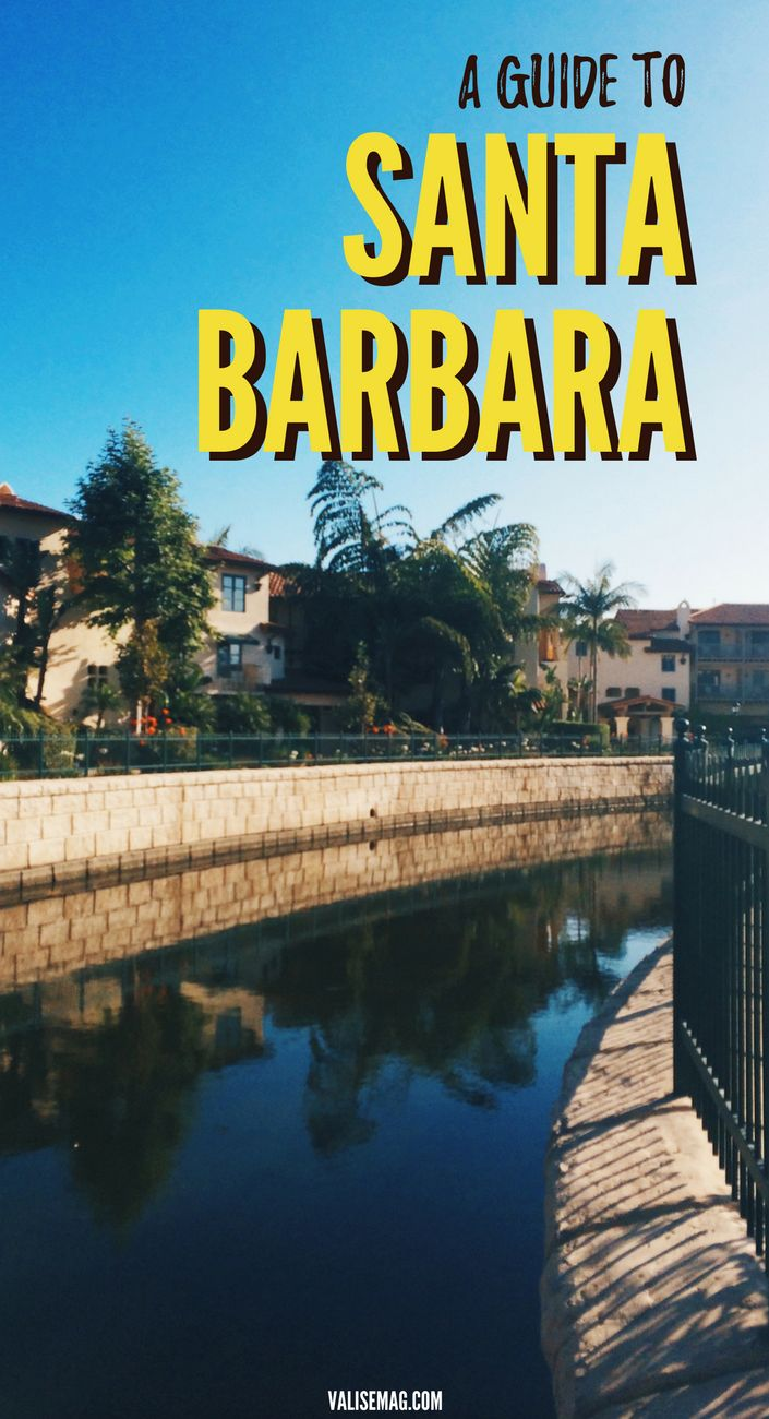 A Guide to Santa Barbara, America's Riviera | What to do in Santa Barbara | Santa Barbara, California | Stearns Wharf | Old Mission Santa Barbara | Santa Barbara Courthouse | Pacific Coast Highway Road Trip via @valerievalise/