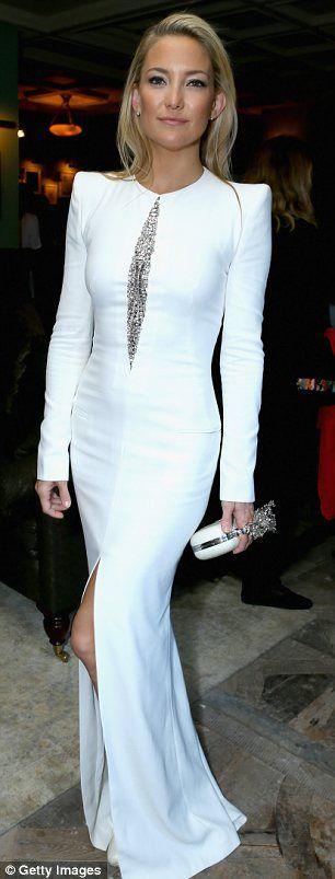 Kate Hudson. dress, hair, and make up... its perfect.