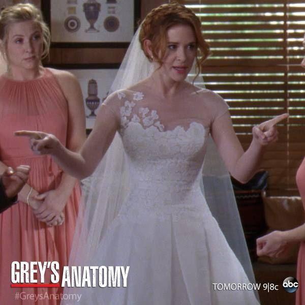Grey 39 s anatomy april 39 s wedding dress really pretty for Bridesmaid dresses for april wedding