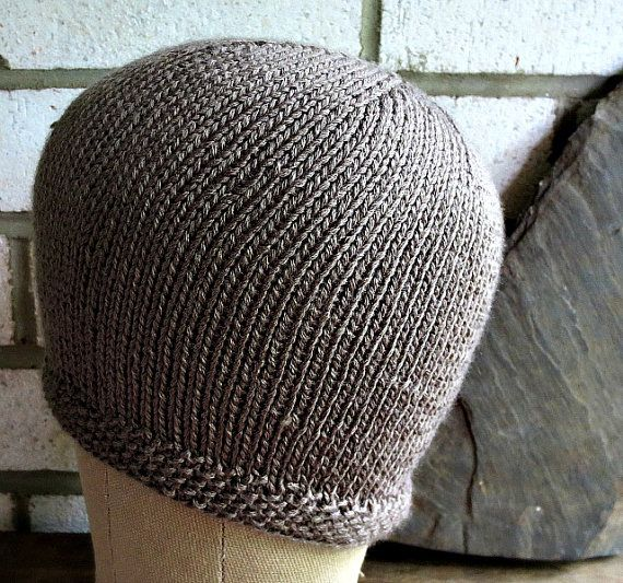 Chemo Cap Soft Bamboo Knitted Comfortable and by wishestogether, $21.50