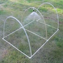 DIY - Free plans and pictures of PVC pipe projects, lots of great garden projects