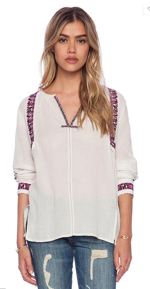 LulaMae Boutique - Love Sam Abelia Long Sleeve Top, $202.00 (http://