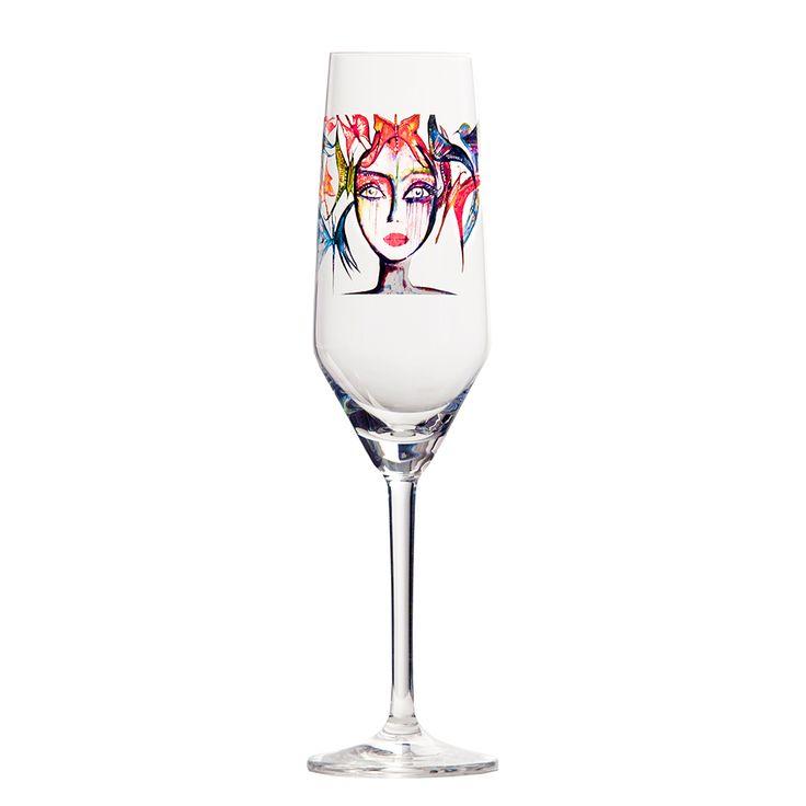 Slice Of Life Champagneglas, 30 cl - Carolina Gynning - Carolina Gynning - RoyalDesign.se